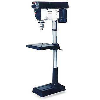 JET Floor Drill Press - 31-1/2 x18-1/2 x66""