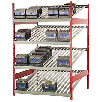 "ROUSSEAU Battery Rack - 48x48x75"" - Starter Unit"
