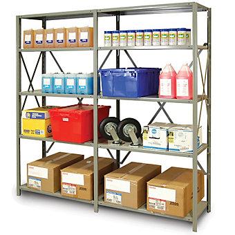 METALWARE Premium Boltless Shelving - 48x18x88 - Storage Shelving ...