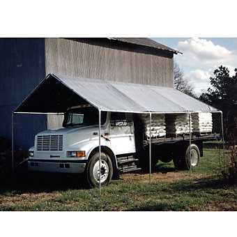 "KING CANOPY Temporary Shelter - 10'3""Wx20'Dx10'H"