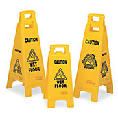 Maintenance & Floor Cleaning Signs