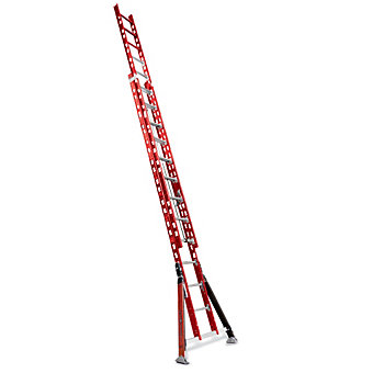 LITTLE GIANT SumoStance Extension Ladder - 300-Lb. Capacity - Without Cable Hook...