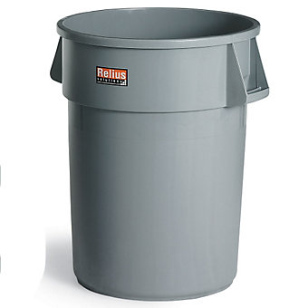 RELIUS SOLUTIONS Waste Container - 44-Gallon Capacity
