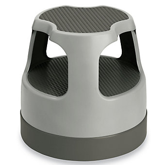 "Scooter Step Stool - 15-2/5 x15"" - Gray"