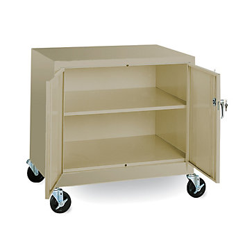 "SANDUSKY LEE Mobile Storage Cabinet - 36x24x36"" - Putty"