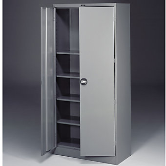 """TENNSCO Cabinets with Recessed Handles - Unassembled - 36""""Wx18""""Dx78""""H - Sand"""