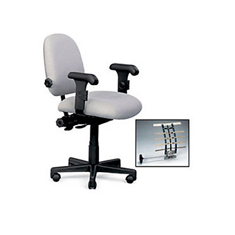 "PHOENIX Adjustable Lumbar Support Task Chair - 16-21"" Seat Height - No Attribute..."