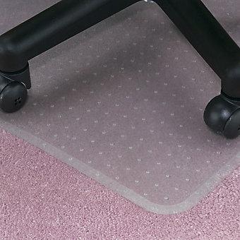"""Beveled Edge Vinyl Anchormat Chair Mat - 72x60"""""""