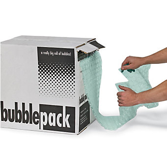 """Recycled Bubble Cushioning - 24""""x175' - -3/16"""" Bubble Size"""
