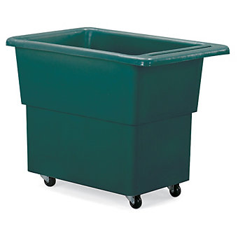 "DIXIE Polyethylene Bulk Trucks - 26""Wx42""Dx30""H - Green"