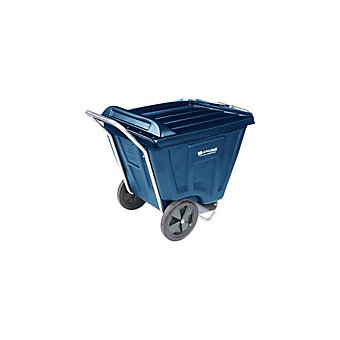 AKRO-MILS Akro-Cart - 350-Lb. Capacity - With Lid - Blue