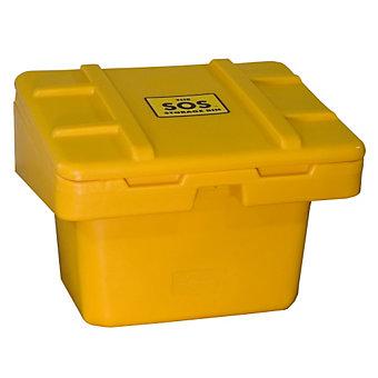 TECHSTAR SOS Storage Bin - 5-1/2  cu. ft. - Yellow