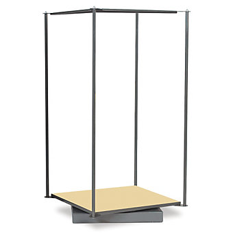 """AKRO-MILS Storage-Go-Round for Industrial Parts Cabinets - 31x31x60"""""""