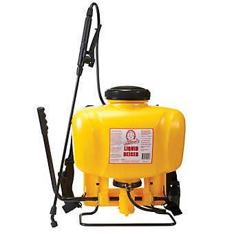 Bare Ground Liquid De-Icer - Back Pack Sprayer - 3 Gal.
