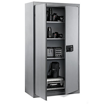 SANDUSKY LEE Storage Cabinets with Digital Locking System - 36x18x72""