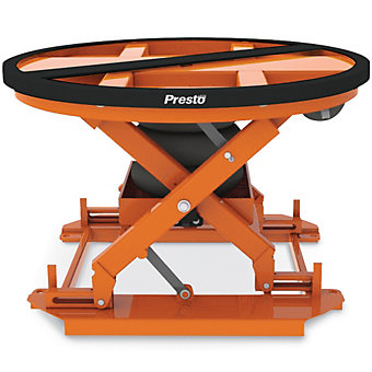 "PRESTO Pallet Positioner - 43-5/8"" Dia. Turntable"