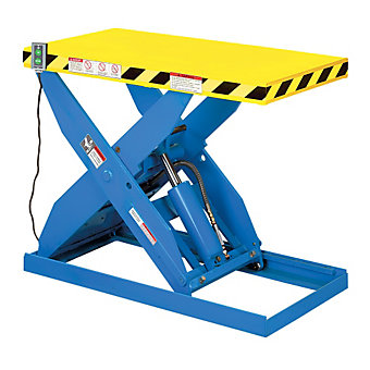 "HERCULES Hydraulic Scissor Lift Table - 4000-Lb. Capacity - 24""Wx48""D Platform -..."