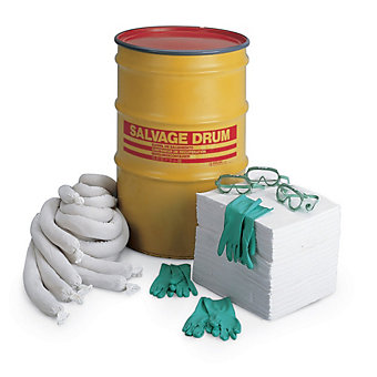 RELIUS SOLUTIONS Drum Response Spill Kit - Organic and Polypropylene Fill