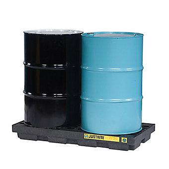 """JUSTRITE EcoPolyBlend Modular""""Green"""" Spill Pallet - 49x25x6"""""""